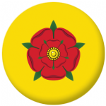 Lancashire County Flag 25mm Pin Button Badge